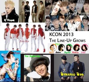KCON Lineup copy